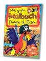 """Malbuch """"Piraten & Ritter"""""""